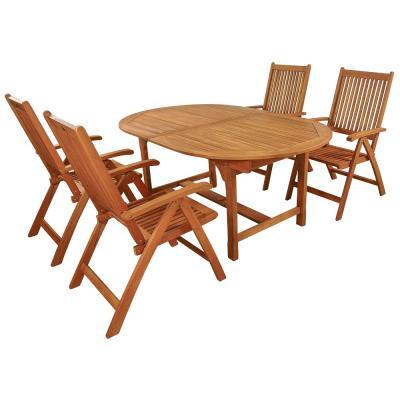 Gartenmöbel aus Eukalyptus-Holz. Sitzgruppen, Stühle & Liegen bei ...