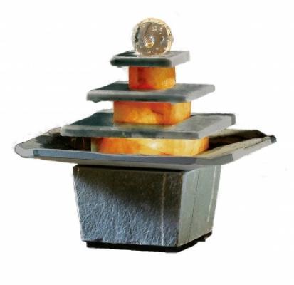 tischbrunnen zimmerbrunnen dalian schiefer amazon