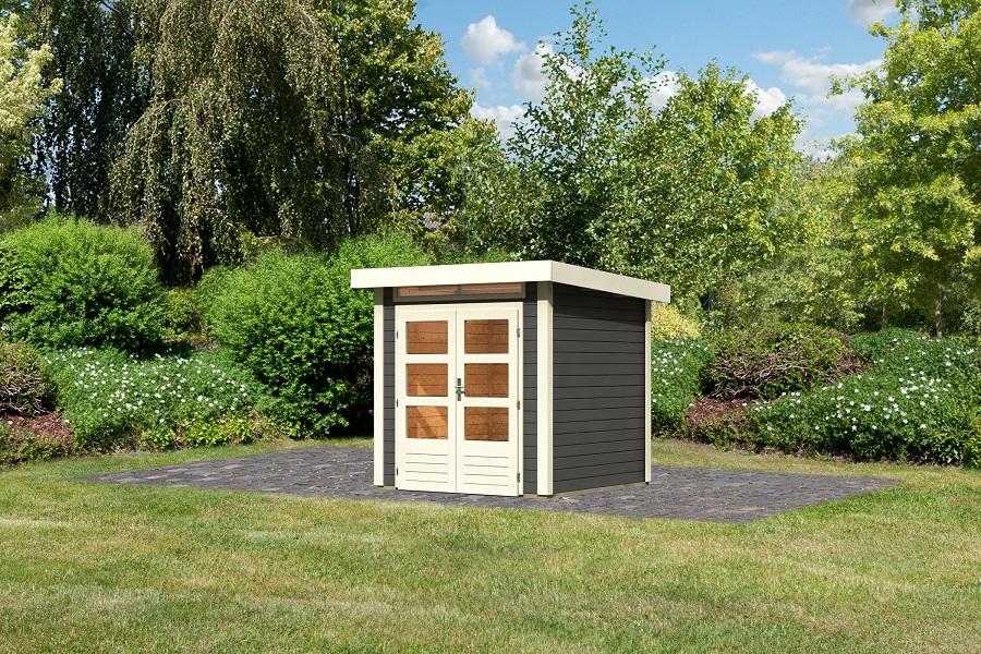 gartenhaus kandern 1 von karibu g nstig online kaufen. Black Bedroom Furniture Sets. Home Design Ideas