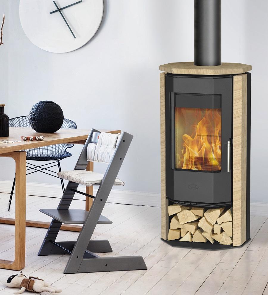 kaminofen innenkamin ph nizia sandstein 5 kw von fireplace g nstig online kaufen. Black Bedroom Furniture Sets. Home Design Ideas