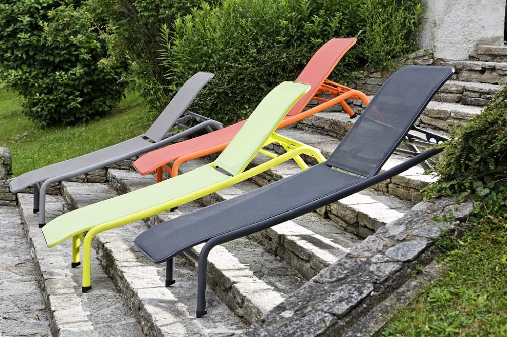 aluminium gartenliege relax sonnenliege kingston bei garten wohnen g nstig online kaufen. Black Bedroom Furniture Sets. Home Design Ideas