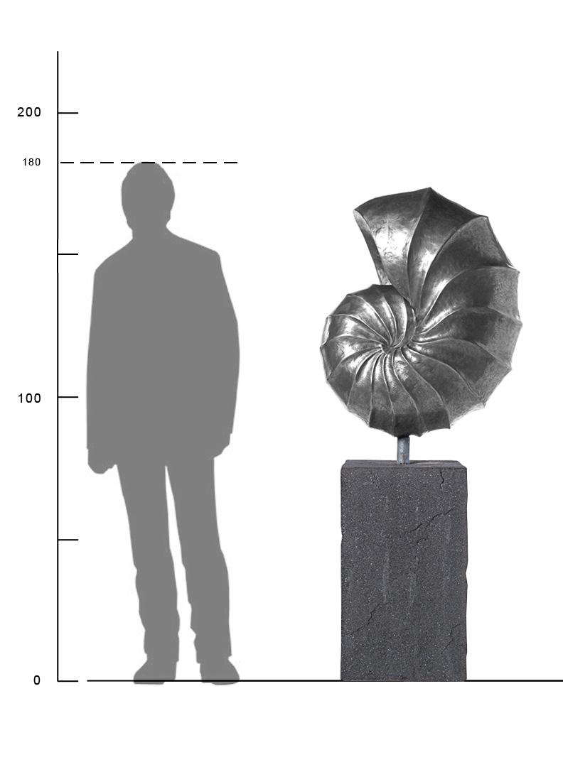 Skulptur Nautilus Giant Maße Garten U0026 Wohnen
