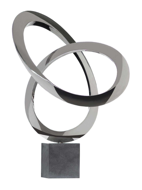 Pure Perpetuum Edelstahl Skulptur Garten U0026 Wohnen