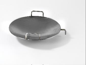 bombierte wok pfanne f r grillkamin vario 80 g nstig online kaufen. Black Bedroom Furniture Sets. Home Design Ideas
