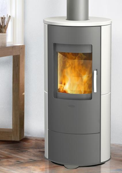 kaminofen innenkamin roma keramikofen weiss 5 kw von fireplace g nstig online kaufen. Black Bedroom Furniture Sets. Home Design Ideas