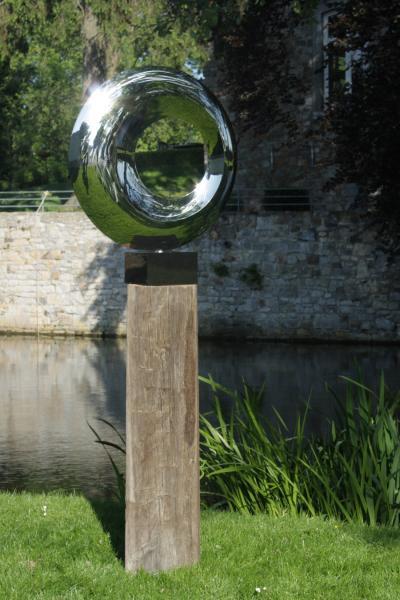 Eclipse Circle Sculpture Edelstahl Skulptur Accessoire Günstig
